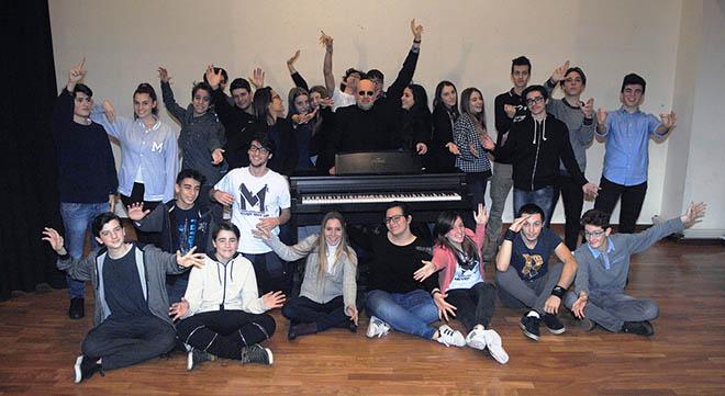 Claudio_Sottocornola_studenti_Liceo_Mascheroni